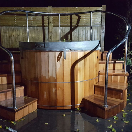 Stainless Steel Hot Tub Handrail - Uxbridge