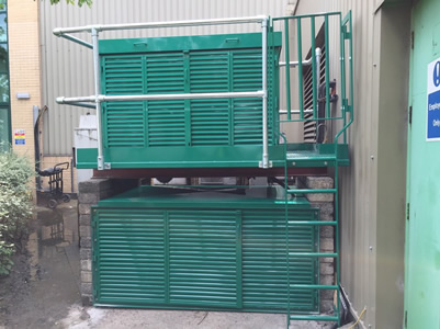 Powder Coated Chiller Cabinet