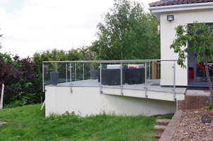 Self Fitted Handrail, Keynsham
