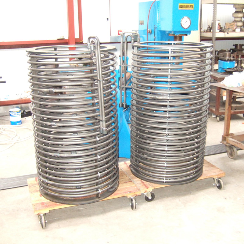 Stainless Steel Coil with Fittings
