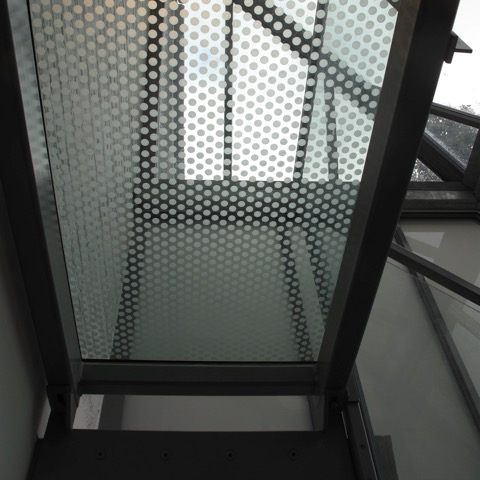 Bespoke Mild Steel Powder Coated Handrail - Painton