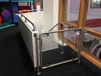 Steel Handrail - Tottenham Green Leisure Centre