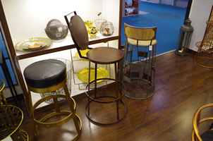 12 - Brass Chairs, Copper Chairs, Metal Chairs