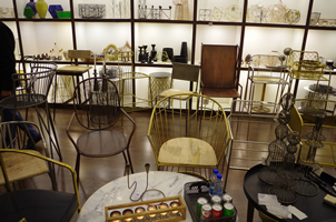 15 - Brass Chairs, Copper Chairs, Metal Chairs