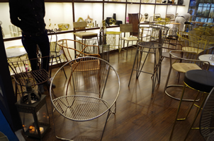 5 - Brass Chairs, Copper Chairs, Metal Chairs