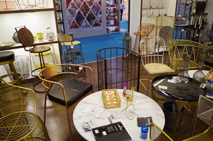 9 - Brass Chairs, Copper Chairs, Metal Chairs