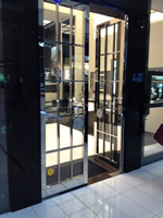 Stainless Steel Door Frame - Malmesbury