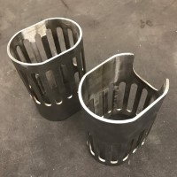 Formed Stainless Steel Shroud