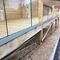 Frameless Glass Balcony Installation
