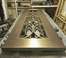 Custom Metal Finishes Can be Applied to Any Material