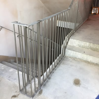 Stainless Steel Handrail - Luton