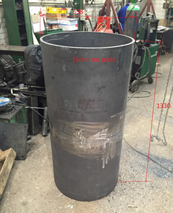 Rolled Mild Steel Tube