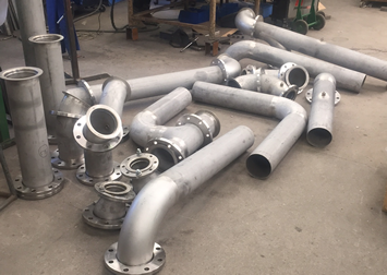 Stainless Steel Tubes with Flanges