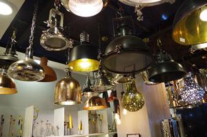 10 - Brass Lights, Copper Lights, Metal Lights