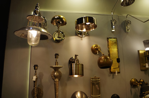 12 - Brass Lights, Copper Lights, Metal Lights