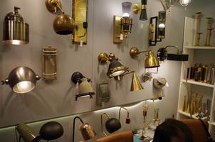 13 - Brass Lights, Copper Lights, Metal Lights