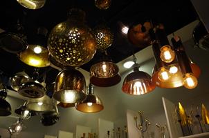 17 - Brass Lights, Copper Lights, Metal Lights