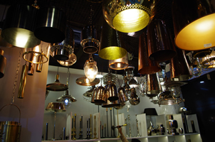 2 - Brass Lights, Copper Lights, Metal Lights