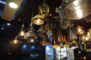 4 - Brass Lights, Copper Lights, Metal Lights