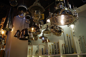 5 - Brass Lights, Copper Lights, Metal Lights