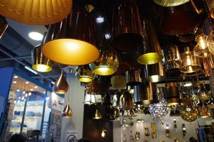 6 - Brass Lights, Copper Lights, Metal Lights