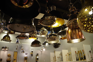 7 - Brass Lights, Copper Lights, Metal Lights