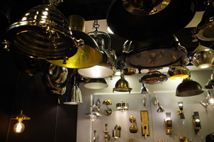 8 - Brass Lights, Copper Lights, Metal Lights