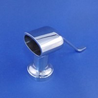 Mirror Polished Handrail Supports - Ends