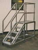 Stainless Steel stairs & platform