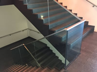 Stainless Steel Topped Handrail