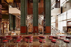 Stainless Steel Bar Stools for One Canada Square Bar & Restaurant, London