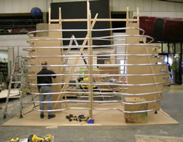 'Take That' Stage Elephant, Internal Tube Rollings - Cardiff